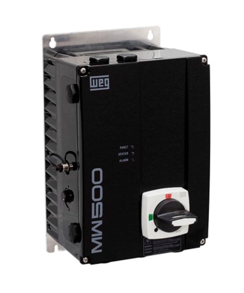 WEG2110-Şekil 2: Kendine has sağlamlığı, MW500'ün koruyucu bir muhafaza olmadan doğrudan duvara da takılabileceği anlamına gelir.