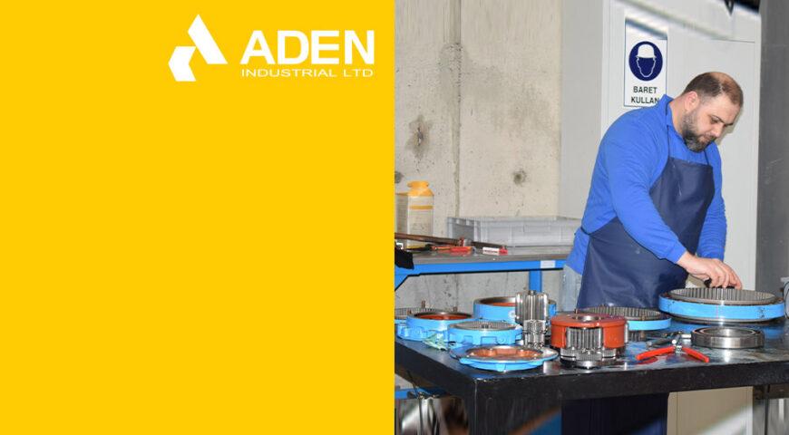 Aden Endüstriyel'den redüktörleriniz için markadan bağımsız tamir ve bakım hizmeti